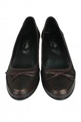 Fitbas 119416 729 Kadın Bakır Deri Büyük Numara Ayakkabı - Thumbnail