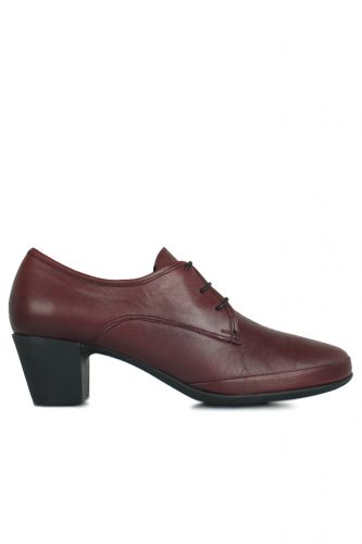 Fitbas - Loggalin 119426 614 Women Claret Red Genuine Leather Shoes (1)