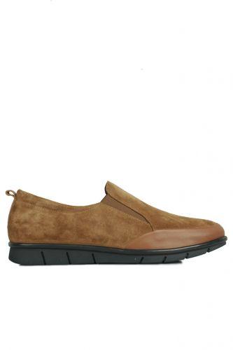 Fitbas - Fitbas 119517 167 Kadın Taba Deri Büyük Numara Ayakkabı (1)