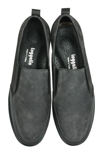 Loggalin - Loggalin 119517 545 Kadın Gri Deri Büyük Numara Ayakkabı (1)