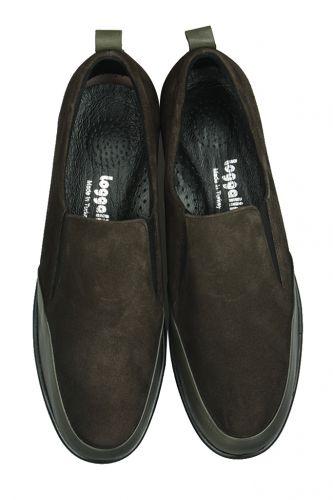 Loggalin - Loggalin 119517 677 Kadın Haki Deri Büyük Numara Ayakkabı (1)