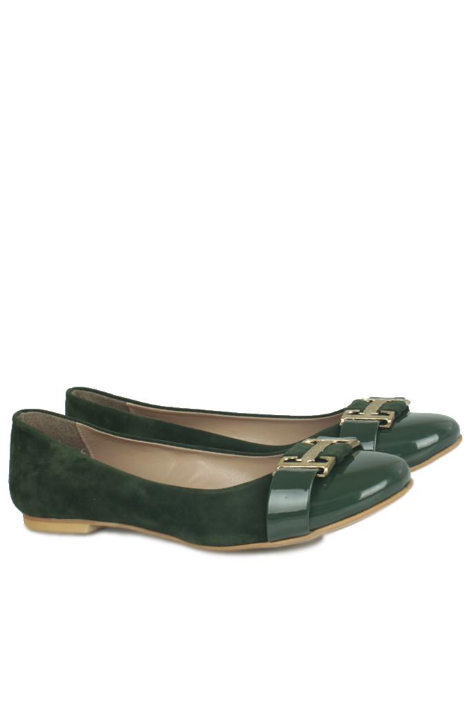 Fitbas 222017 675 Kadın Yeşil Büyük & Küçük Numara Babet