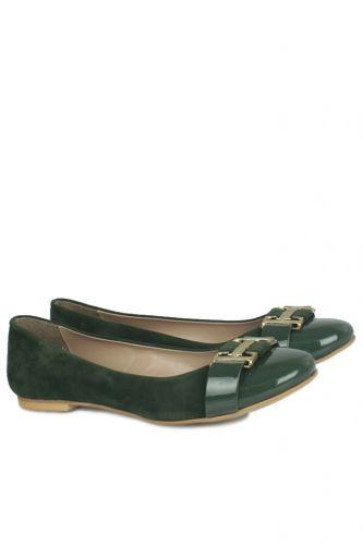 Fitbas - Fitbas 222017 675 Kadın Yeşil Büyük & Küçük Numara Babet (1)