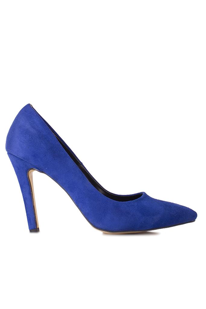 Fitbas 520207 427 Kadın Mavi Büyük & Küçük Numara Stiletto