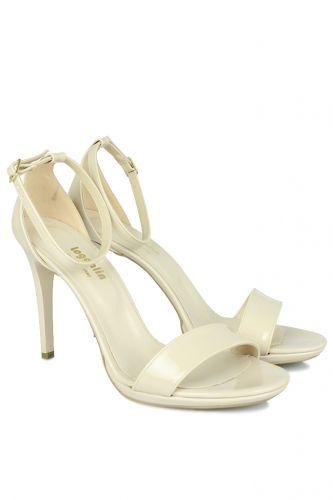 33 34 41 42 43 44 45 Küçük Büyük Numara Kadın Ayak - Loggalin 520333 320 Kadın Ten Rugan Topuklu Platform Ayakkabı (1)