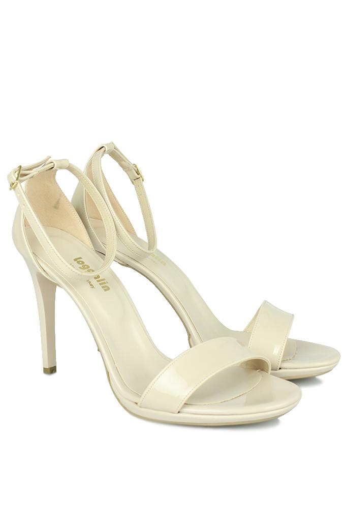 Fitbas 520333 320 Kadın Ten Rugan Topuklu Platform Büyük & Küçük Numara Ayakkabı
