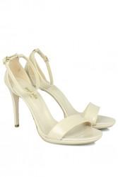 Loggalin 520333 320 Kadın Ten Rugan Topuklu Platform Ayakkabı - Thumbnail