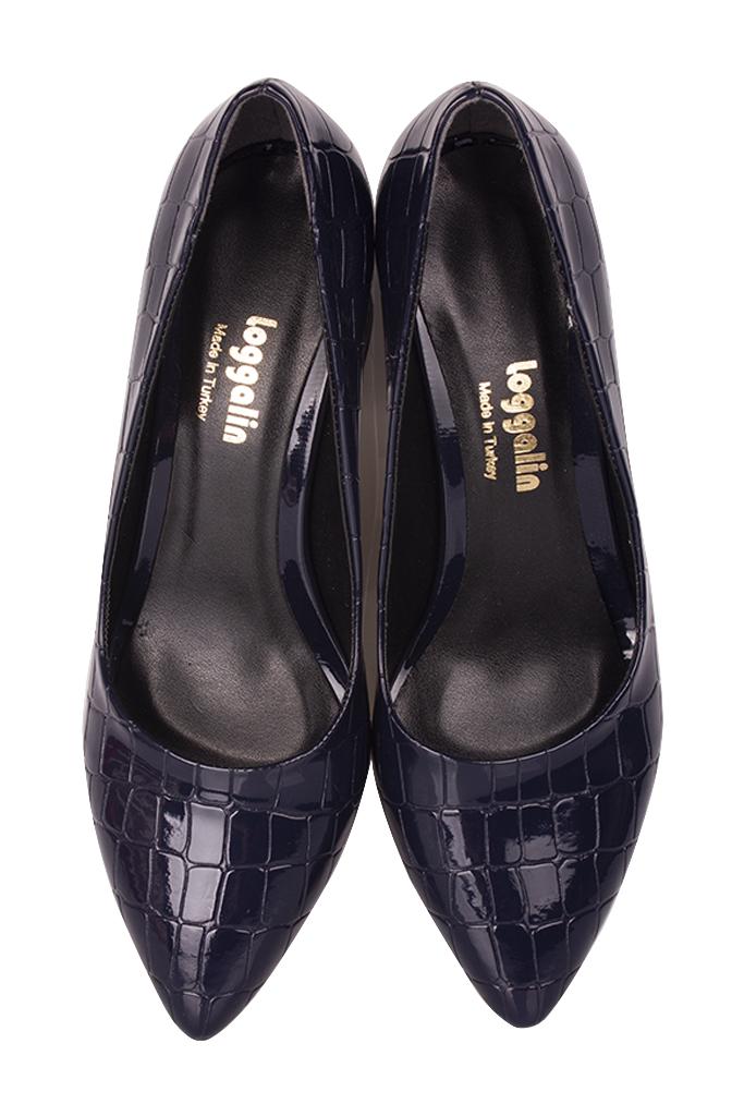 Fitbas 520714 425 Lacivert Rugan Günlük Büyük & Küçük Numara Ayakkabı