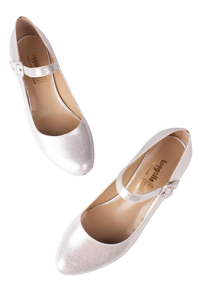 Fitbas 784302 771 Kadın Gümüş Büyük & Küçük Numara Ayakkabı