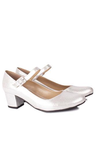 Loggalin - Loggalin 784302 771 Kadın Gümüş Büyük & Küçük Numara Ayakkabı (1)