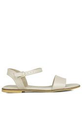 Loggalin 785206 324 Kadın Ten Büyük & Küçük Numara Sandalet - Thumbnail