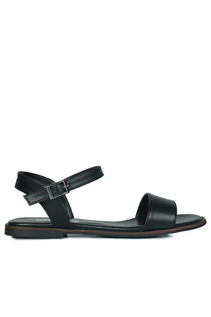 Fitbas 785206 014 Kadın Siyah Büyük & Küçük Numara Sandalet