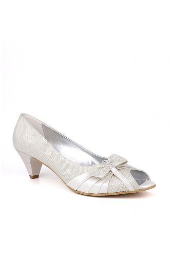 Fitbas - Fitbas 012632 351 Kadın Beyaz Büyük & Küçük Numara Ayakkabı (1)