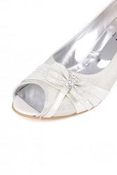Fitbas 012632 351 Kadın Beyaz Büyük & Küçük Numara Ayakkabı - Thumbnail