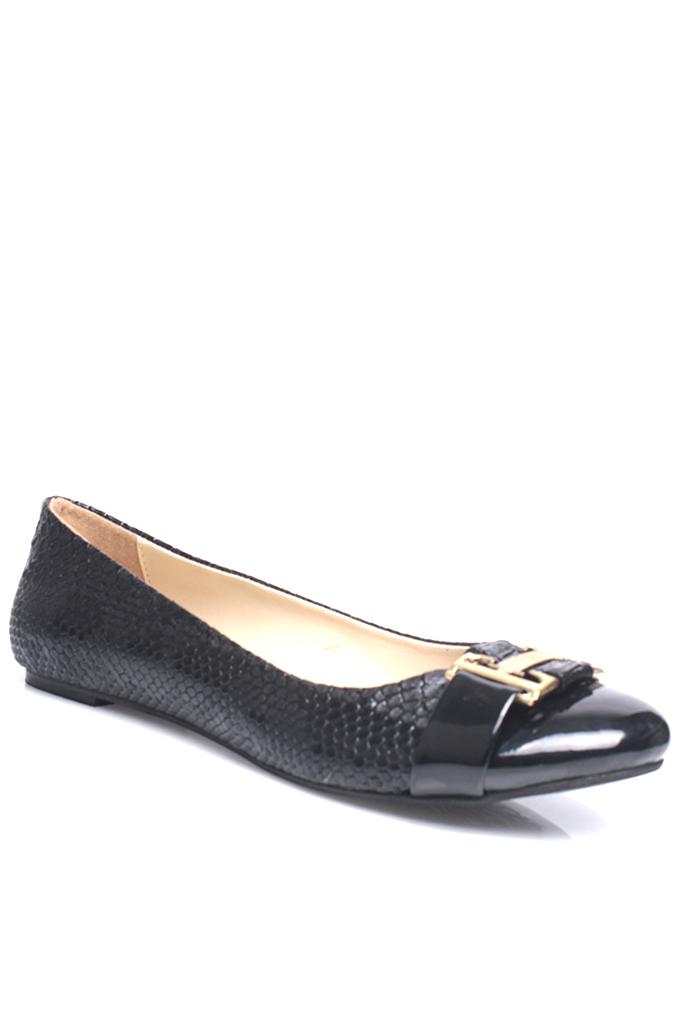 Fitbas 222018 111 Kadın Siyah Büyük & Küçük Numara Babet