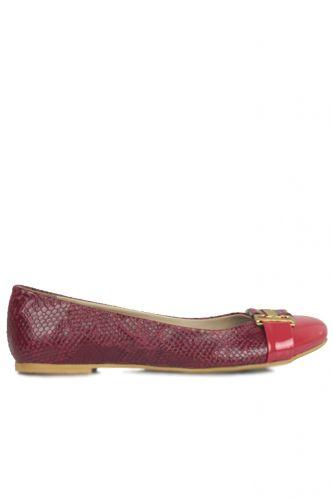 Fitbas 222018 555 Kadın Kırmızı Büyük & Küçük Numara Babet