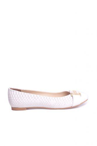 Fitbas 222018 666 Kadın Beyaz Büyük & Küçük Numara Babet
