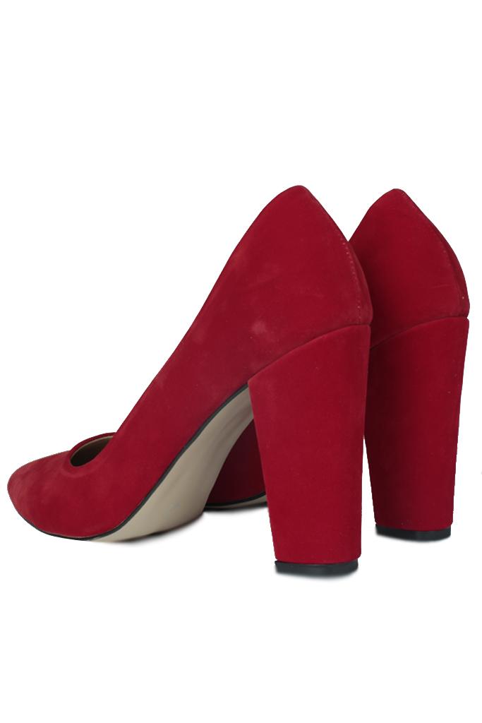 Loggalin 520121 527 Kadın Kırmızı Büyük & Küçük Numara Stiletto
