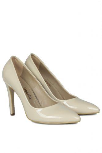33 34 41 42 43 44 45 Küçük Büyük Numara Kadın Ayak - Loggalin 520207 320 Kadın Ten Stiletto (1)