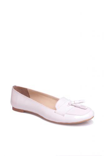 Fitbas - Fitbas 782170 425 Kadın Beyaz Büyük & Küçük Numara Babet (1)