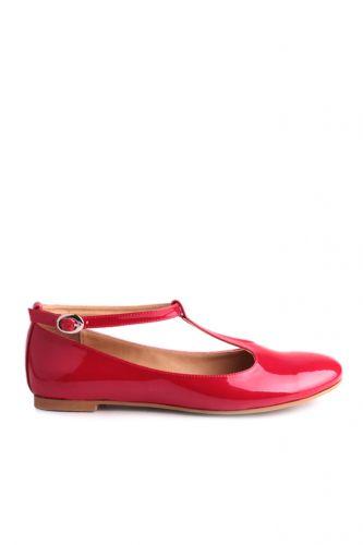 - Loggalin 782255 559 Kadın Kırmızı Babet
