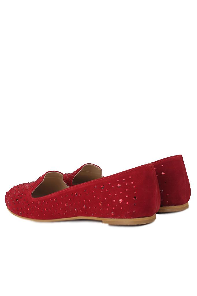 Fitbas 782268 527 Kadın Kırmızı Büyük & Küçük Numara Babet