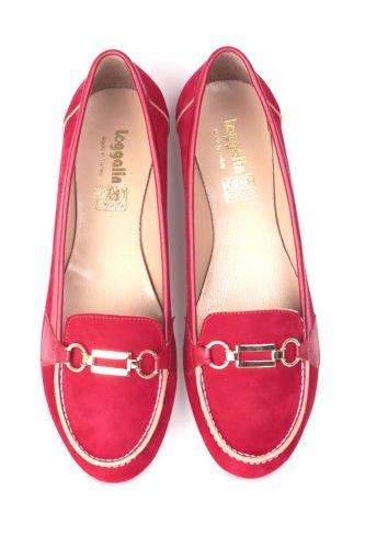Fitbas - Fitbas 784367 558 Kadın Kırmızı Büyük & Küçük Numara Babet (1)
