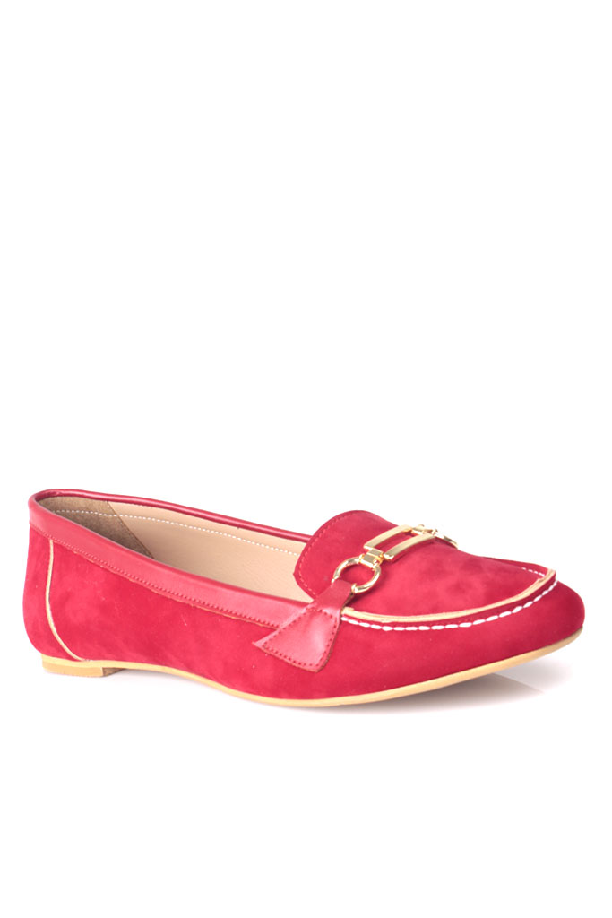 Fitbas 784367 558 Kadın Kırmızı Büyük & Küçük Numara Babet
