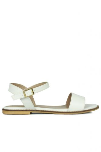 - Loggalin 785206 468 Kadın Beyaz Sandalet
