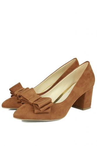 Fitbas - Fitbas 520699 167 Taba Süet Günlük Büyük & Küçük Numara Ayakkabı (1)
