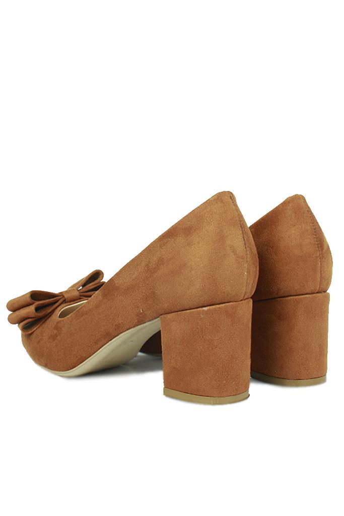 Fitbas 520699 167 Taba Süet Günlük Büyük & Küçük Numara Ayakkabı