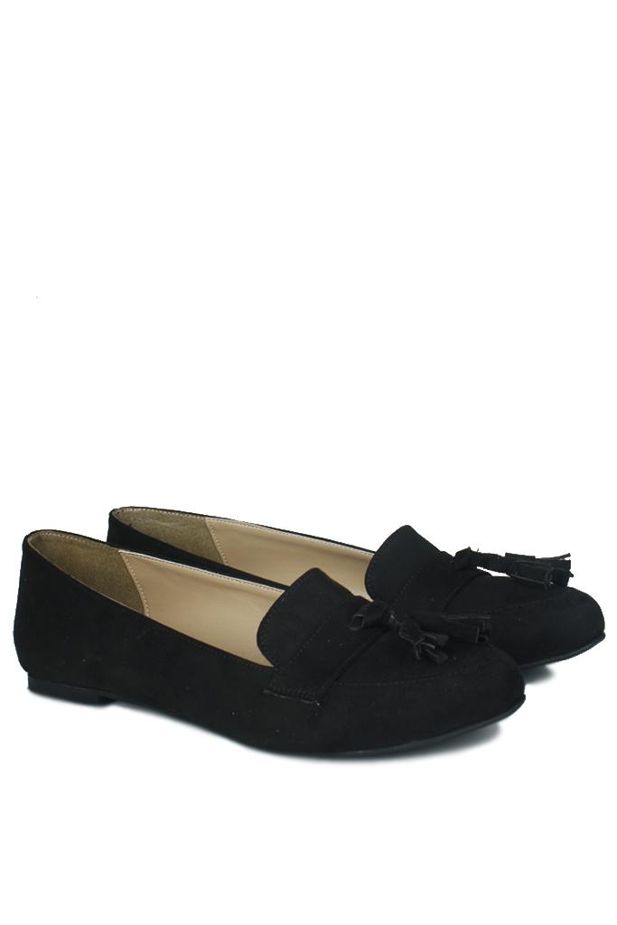 Fitbas 785308 008 Kadın Siyah Büyük & Küçük Numara Babet