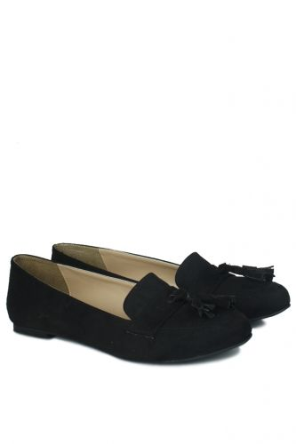 Fitbas - Fitbas 785308 008 Kadın Siyah Büyük & Küçük Numara Babet (1)