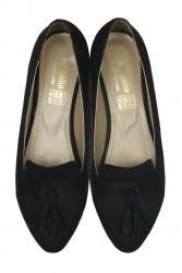 Fitbas 785308 008 Kadın Siyah Büyük & Küçük Numara Babet - Thumbnail