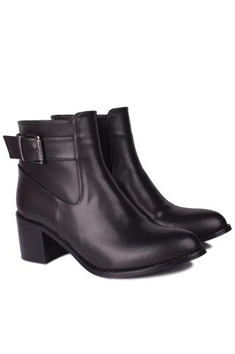 Fitbas - Loggalin 112702 014 Women Black Matt Boot (1)